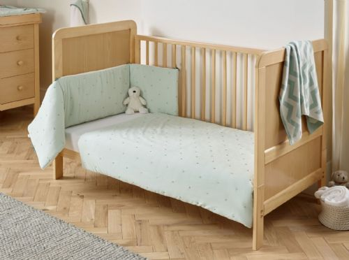 Cot Bed Set - Lullaby Stars Mint